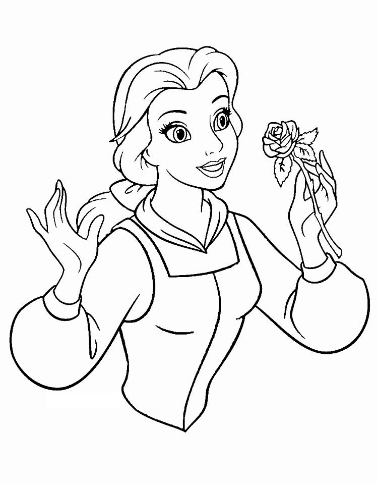 Belle Smelling Rose