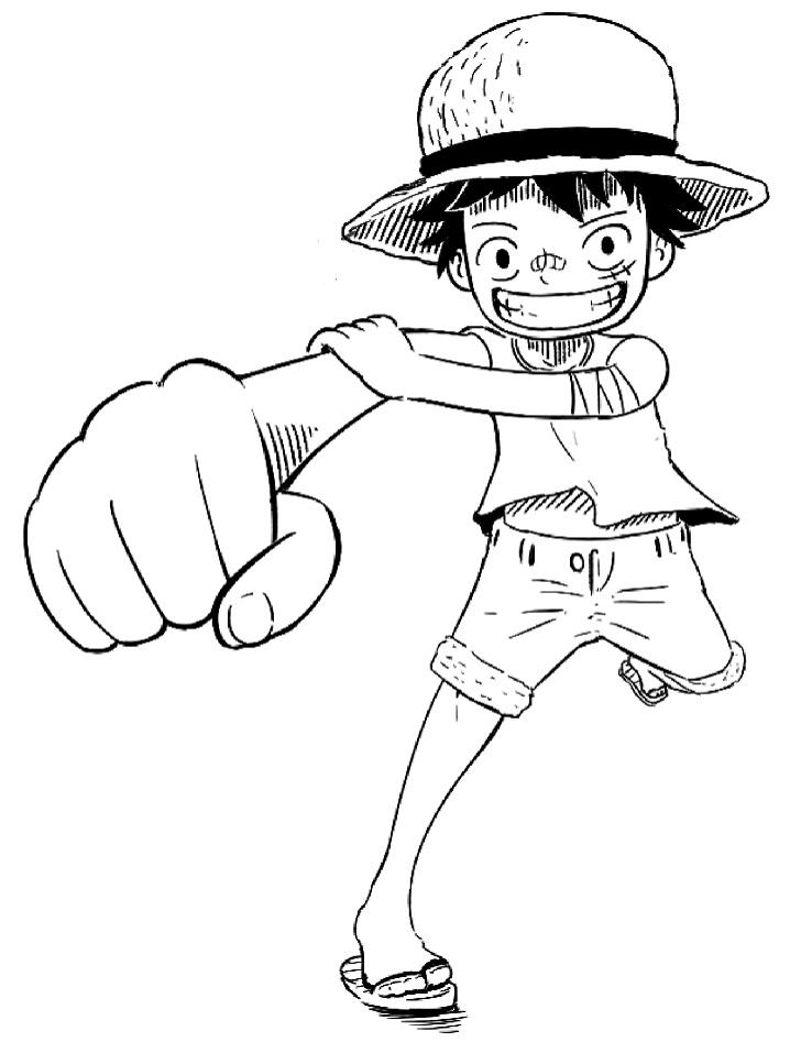 Funny Chibi Luffy