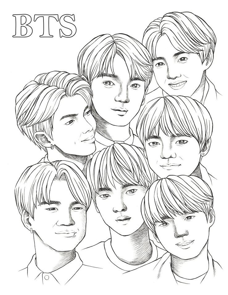 BTS Funny Draw