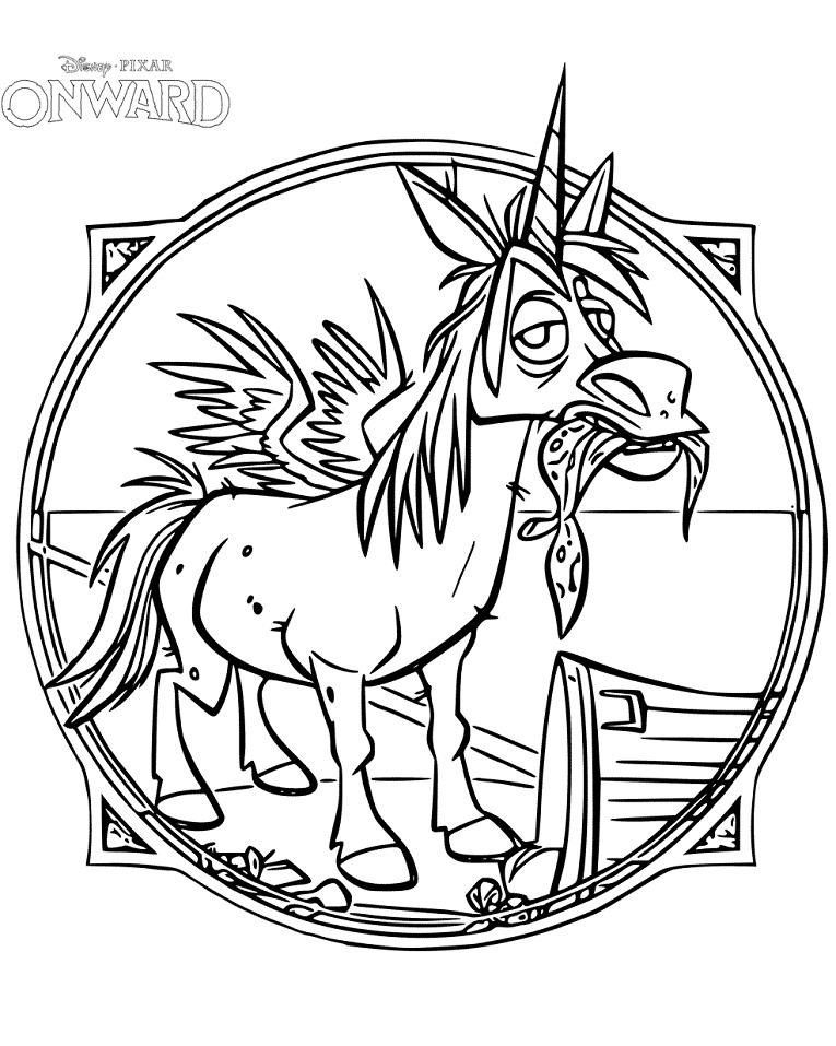 Onward Winged Unicorn