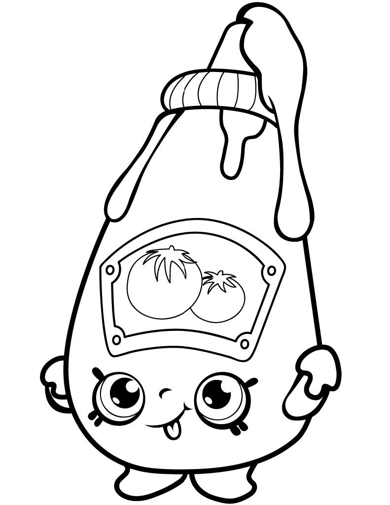 Tommy Ketchup Shopkin
