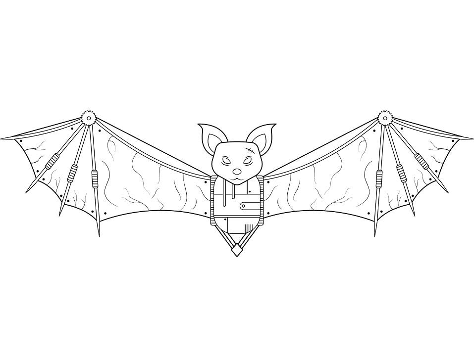 Steampunk Bat