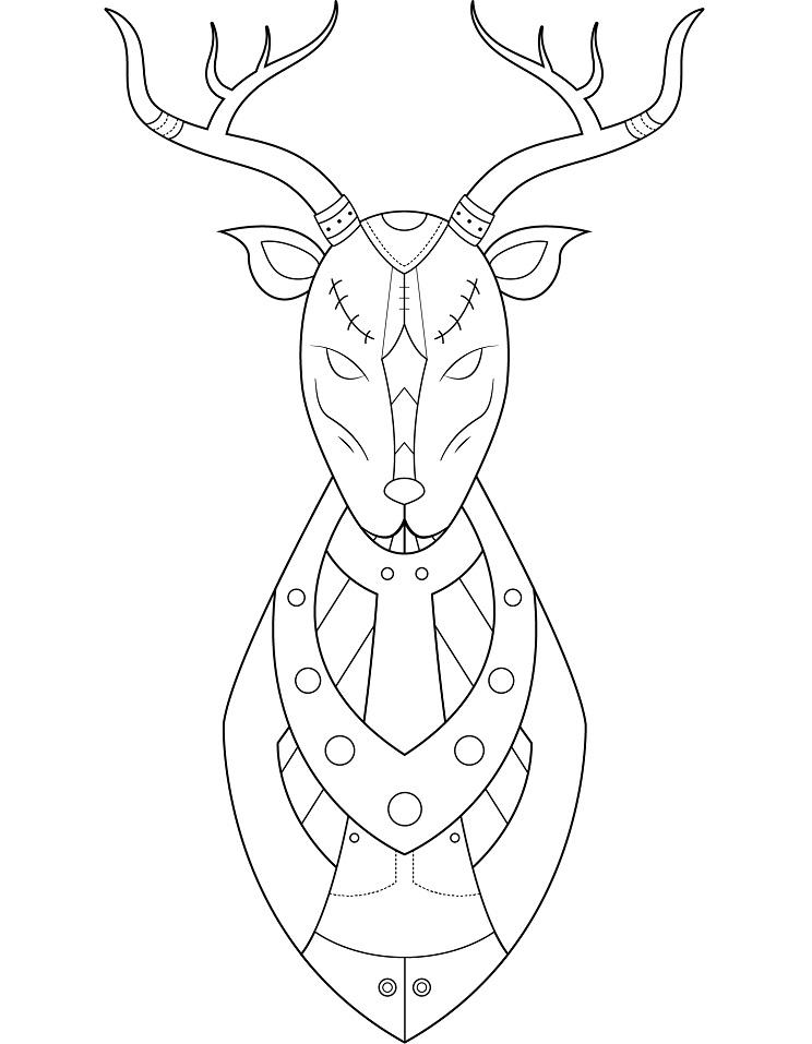 Steampunk Deer