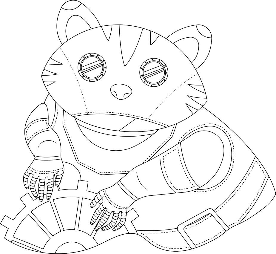 Steampunk Raccoon