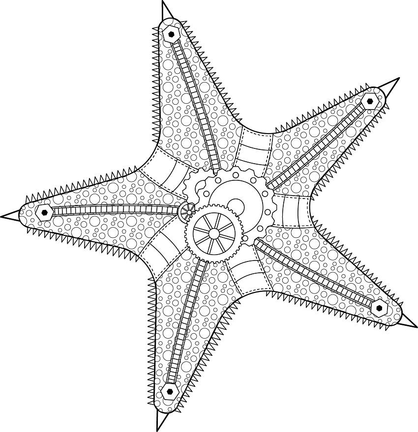 Steampunk Starfish