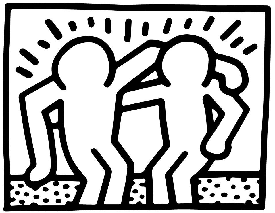 Best Buddie sby Keith Haring