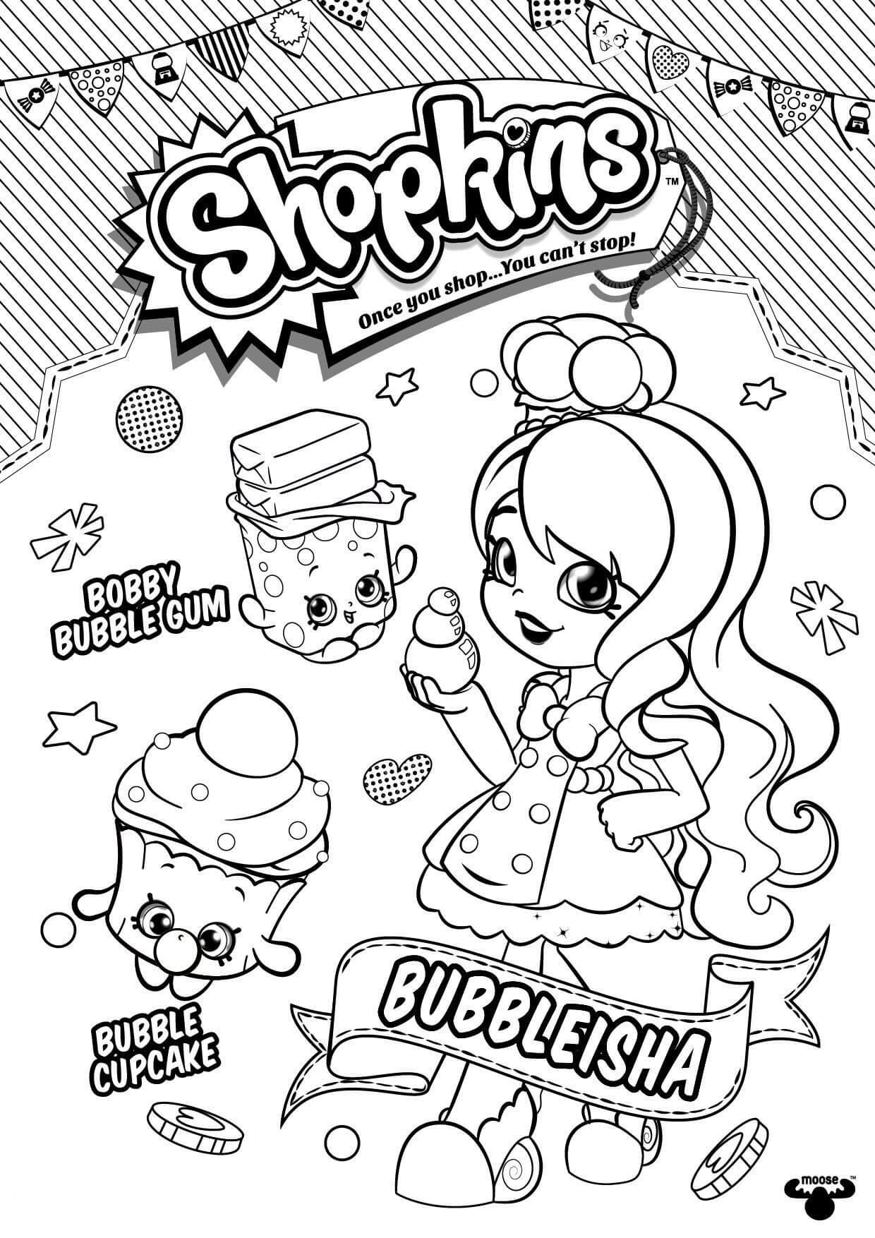 Bubbleisha Shopkins