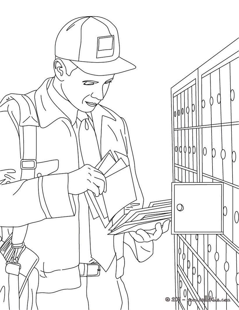 Post Office Man