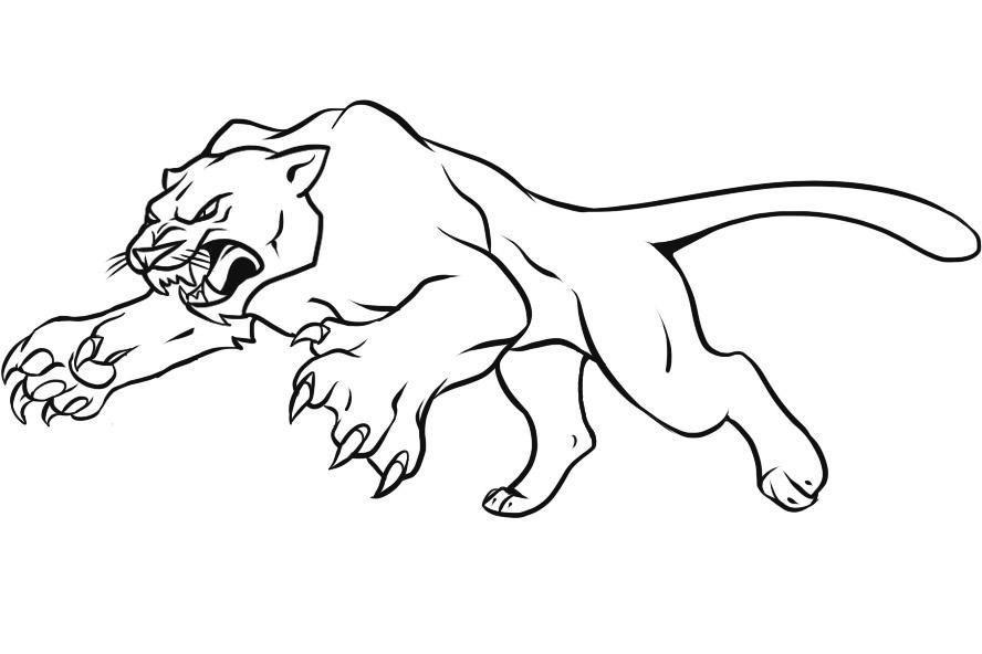 Marvel Black Panther Coloring Pages | Libri da colorare, Black ... | 592x888
