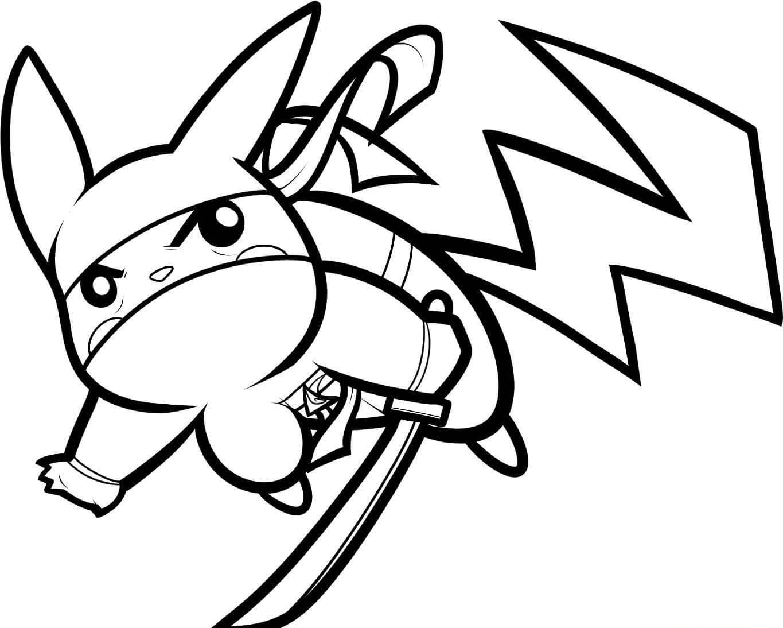 Ninja Pikachu