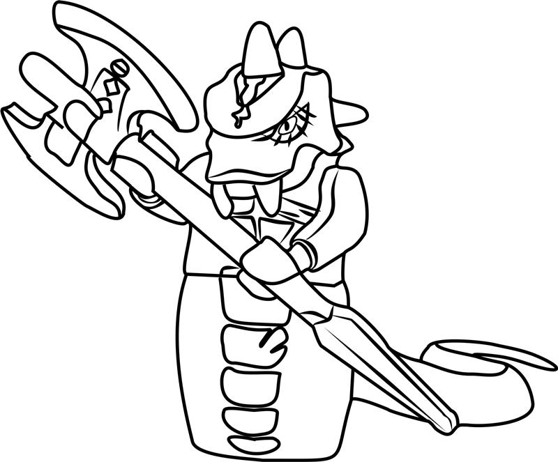 Skalidor Ninjago Coloring Page - Free Printable Coloring ...