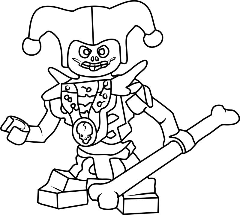 Ninjago Krazi Coloring Page - Free Printable Coloring ...
