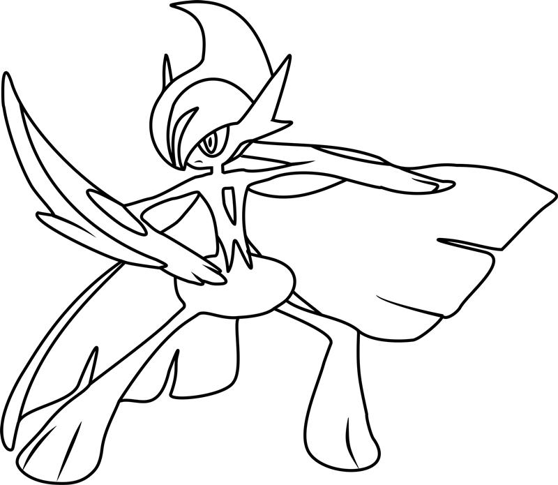 Mega Sharpedo Pokemon Coloring Page - Free Printable ...
