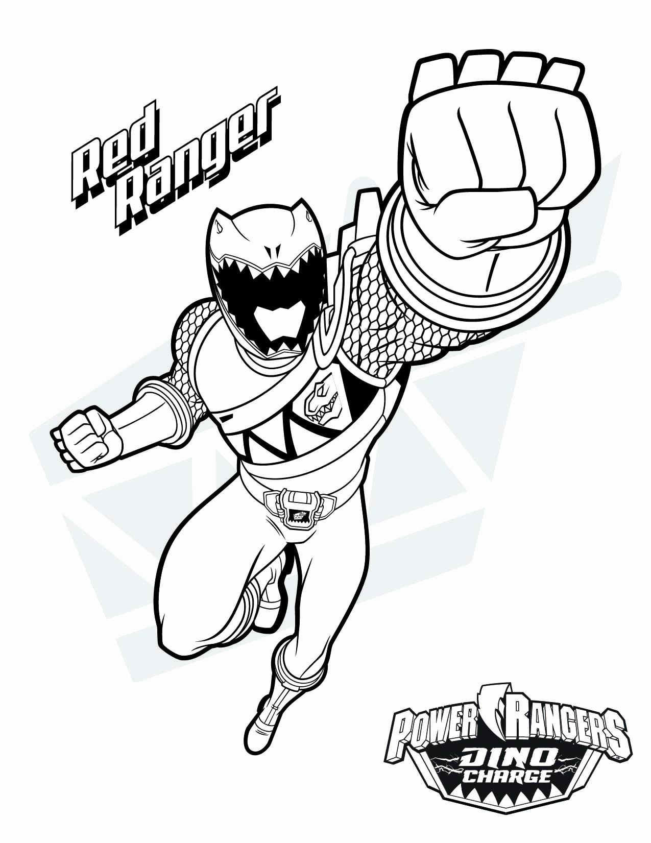 Power Rangers Rpm Coloring Pages | Power rangers samurai | 1651x1275