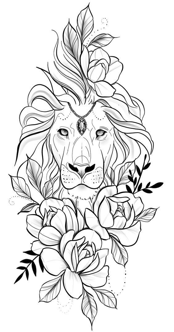 1560154108_beautiful-lion's-face-a4