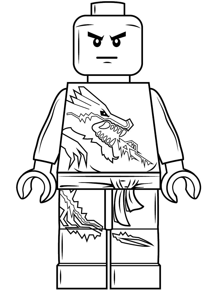 Lego Ninjago Lloyd Coloring Page - Free Printable Coloring ...
