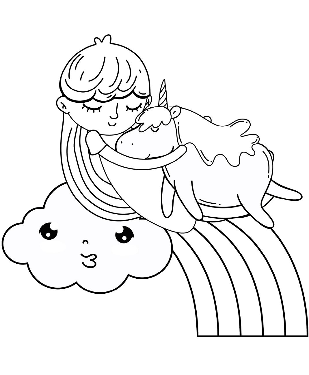 Unicorn Coloring Pages | Raising Smart Girls | 1300x1070