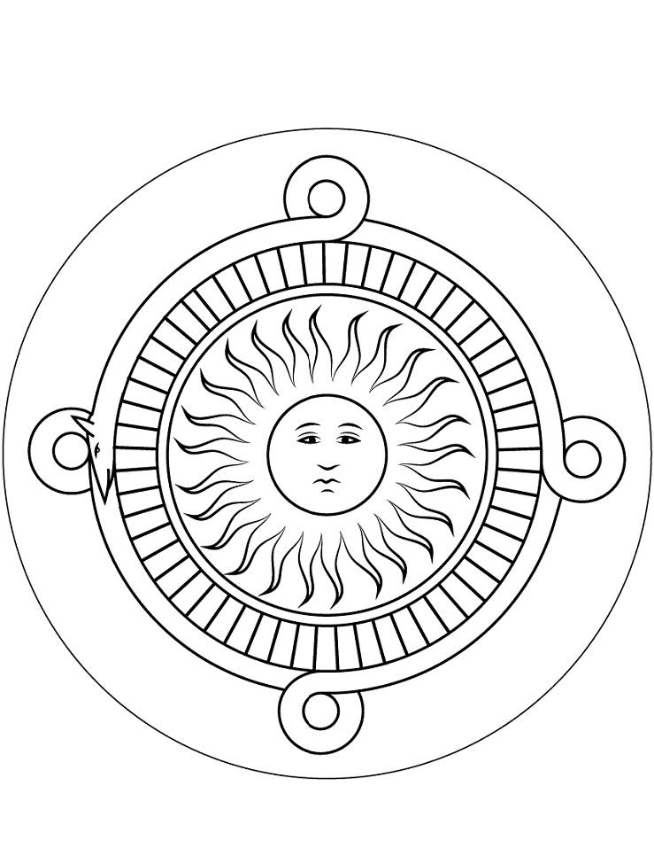 Adult Mask Inspiration Inca Mayan Aztec 3 Coloring Pages Printable   957x739