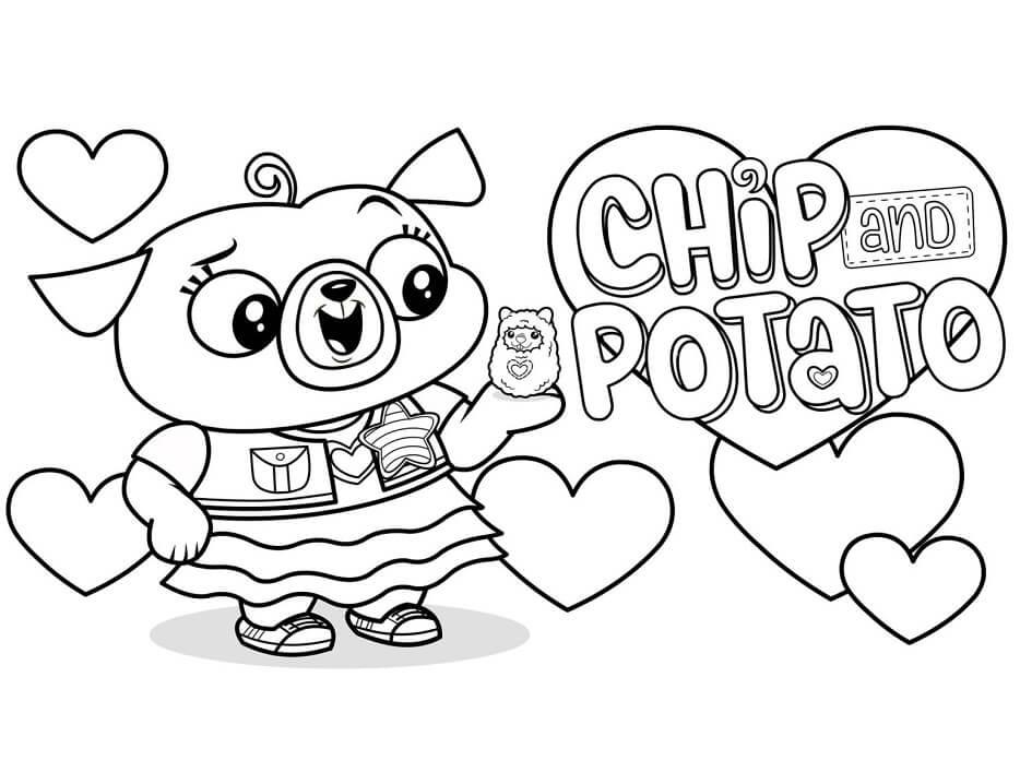 Adorable Chip and Potato