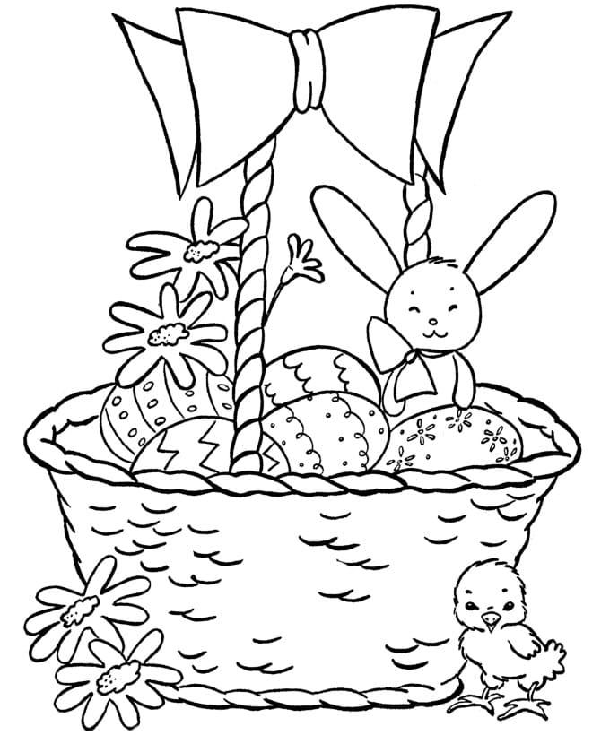Adorable Easter Basket