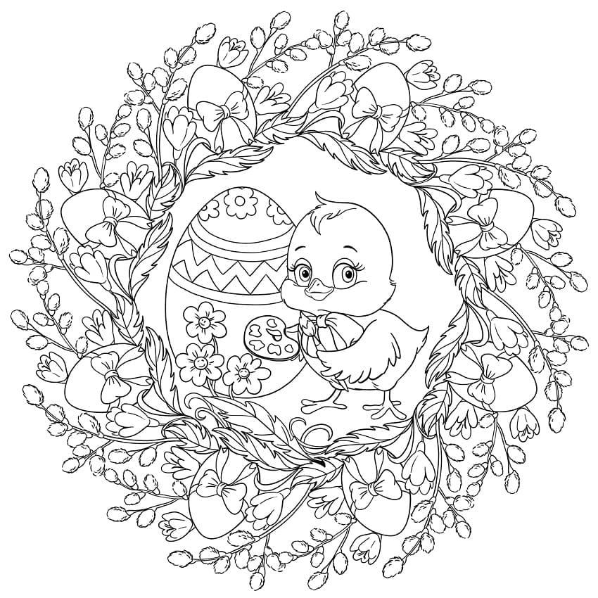 Adorable Mandala Easter