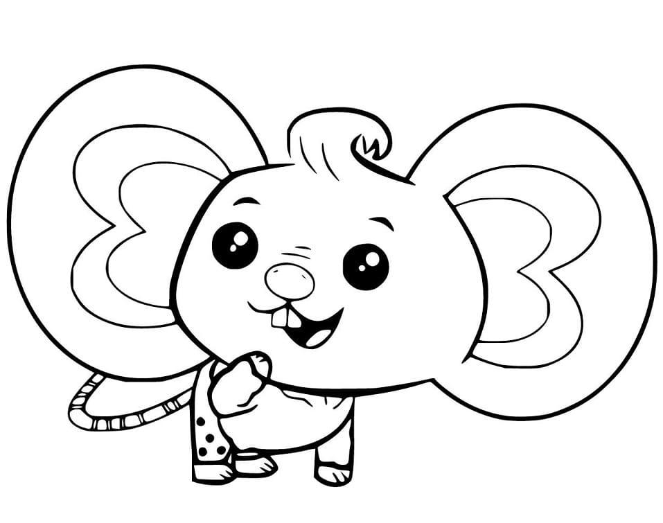 Adorable Potato Mouse