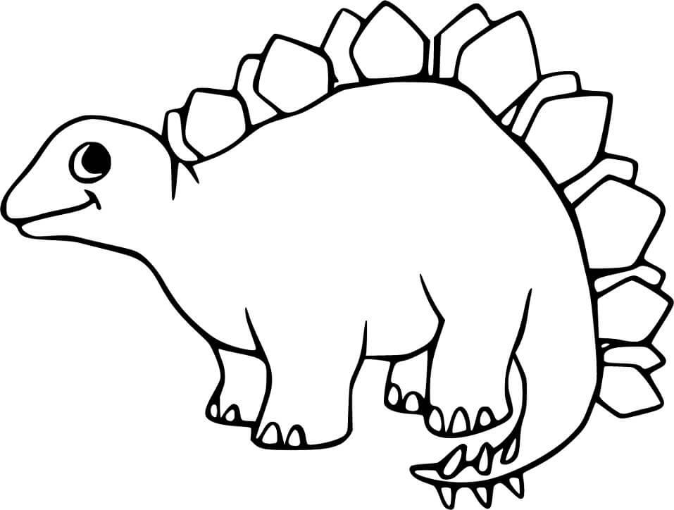Adorable Stegosaurus