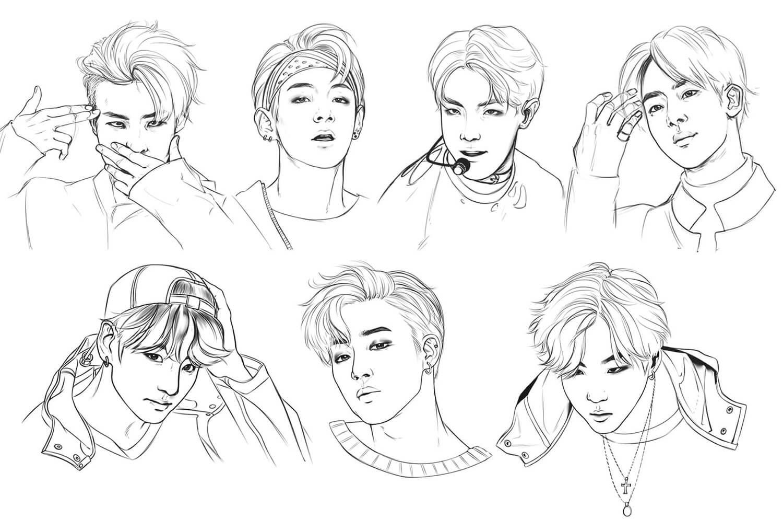 All Members of BTS