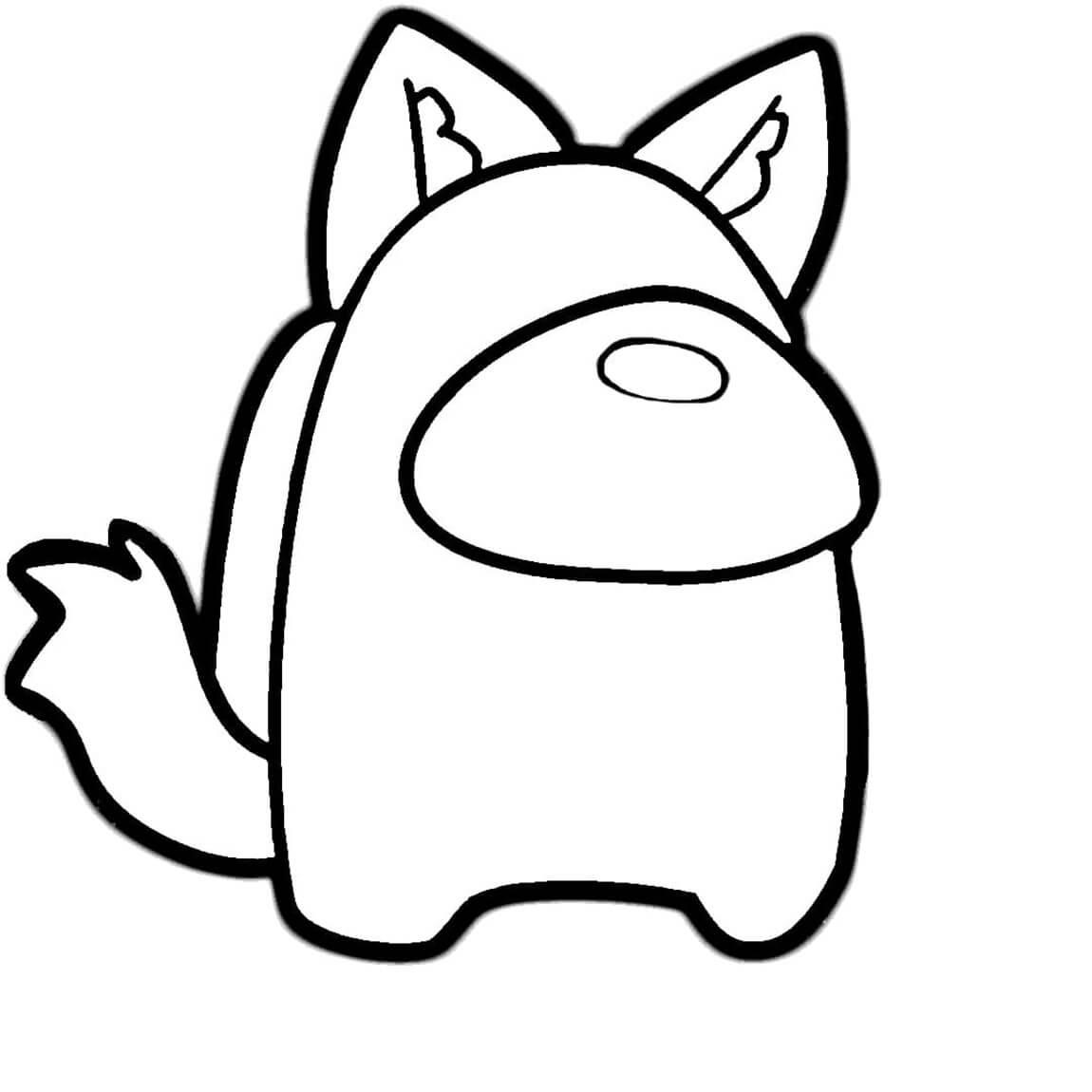Among Us Cat