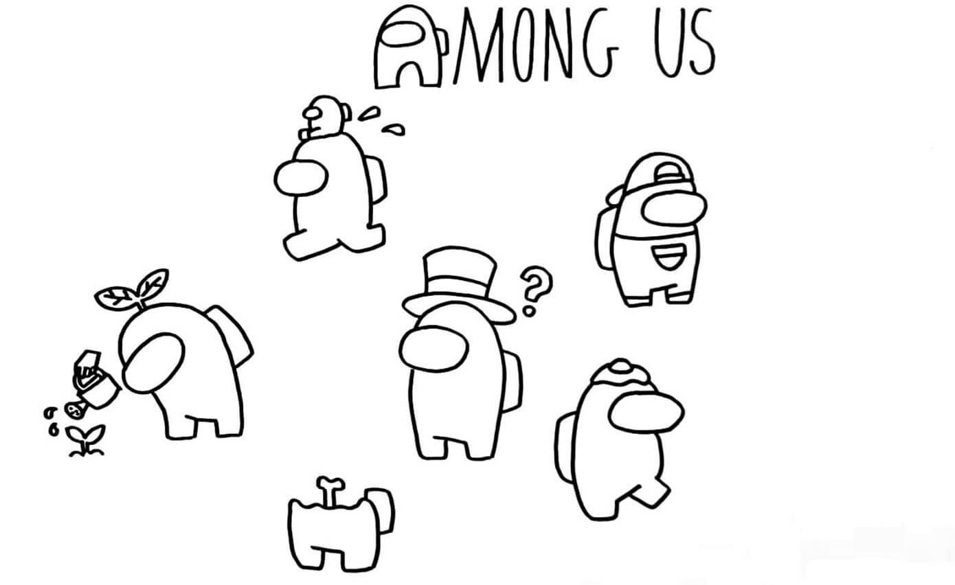 Among Us Characters