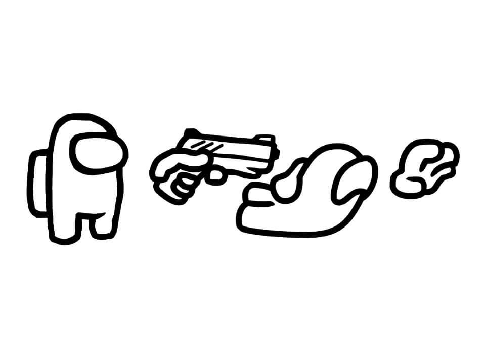 Among Us Gun Kill
