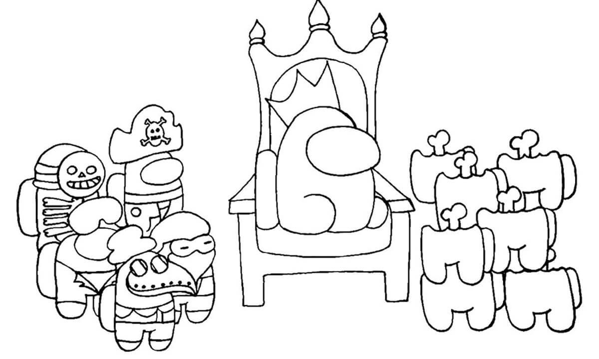 Among Us King