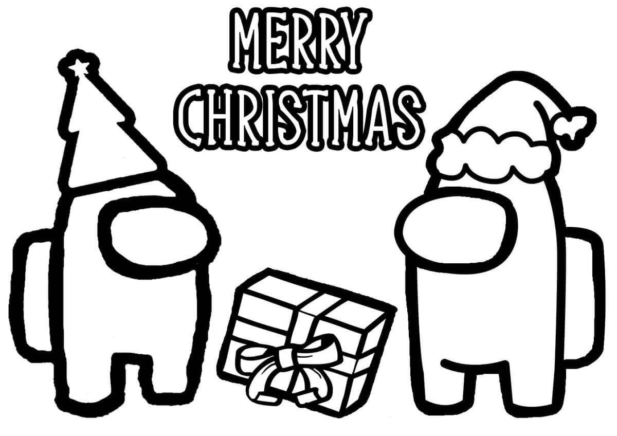 Among Us Merry Christmas