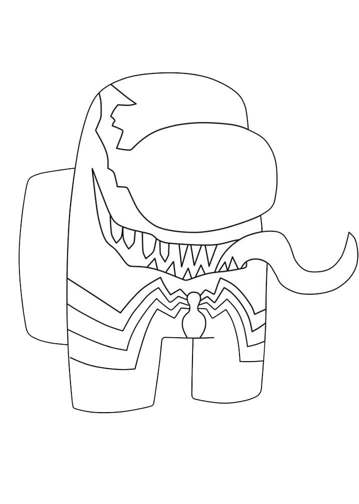 Among Us Venom