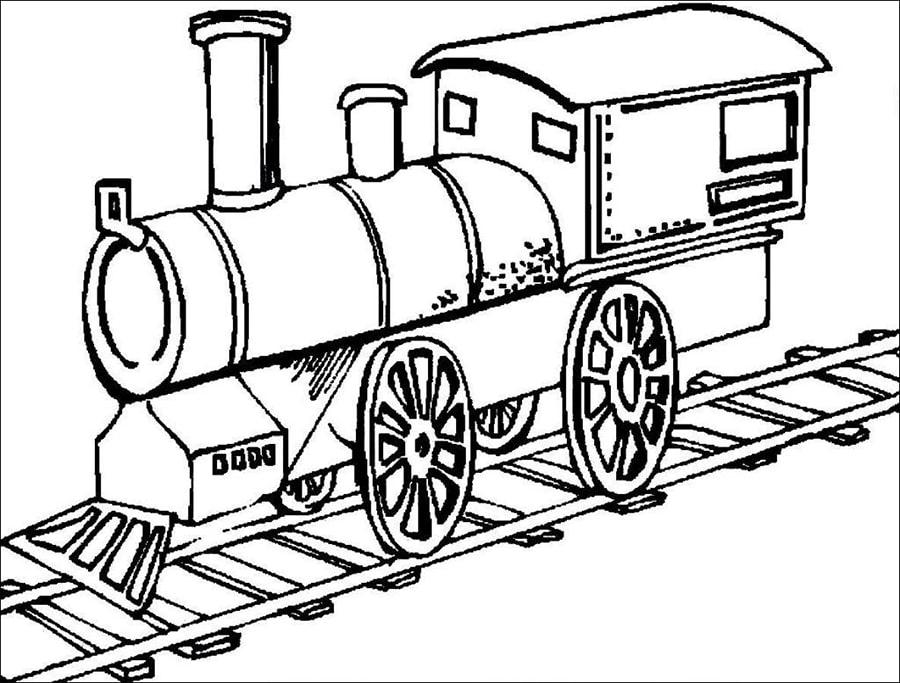 Ancient Train