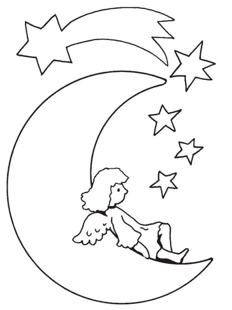 Angel on the Moon