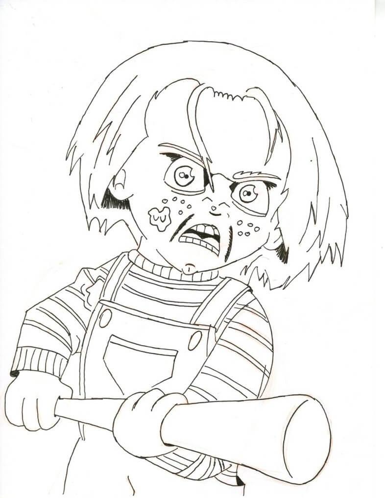 Angry Chucky