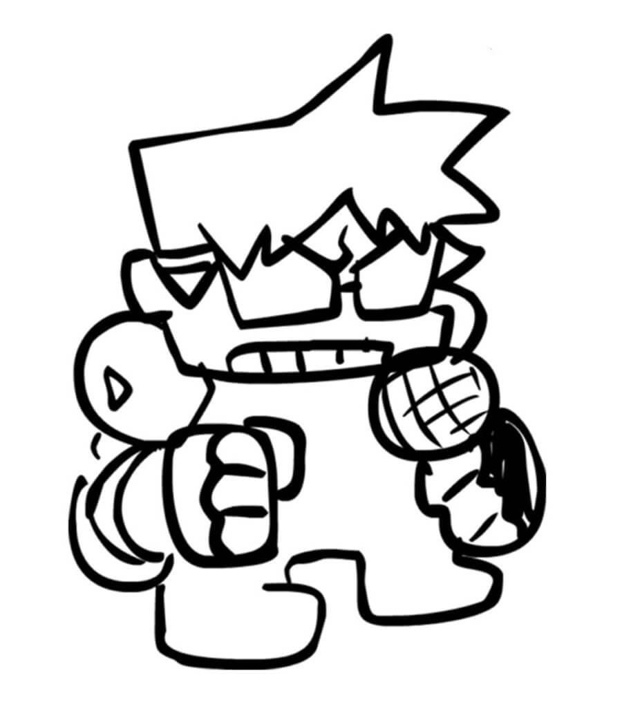 Angry Friday Night Funkin