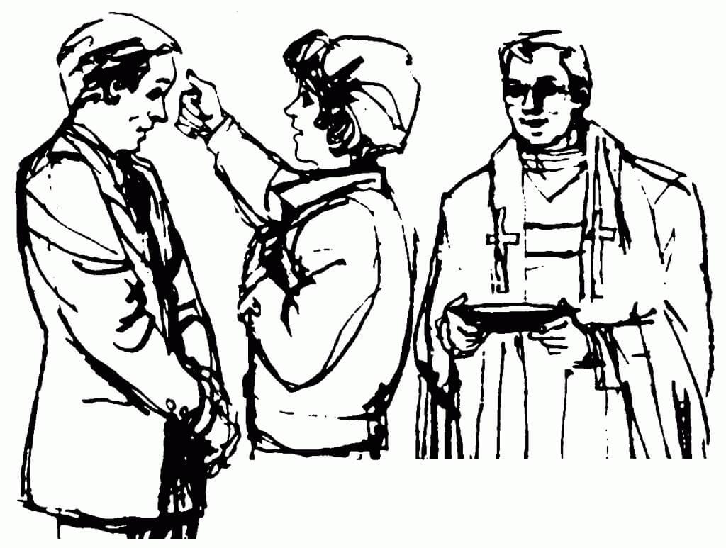 Ash Wednesday Communion