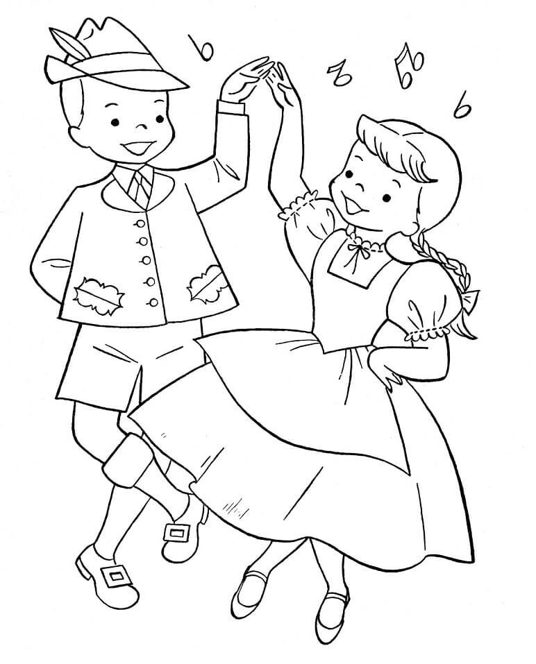 Austrian Boy and Girl