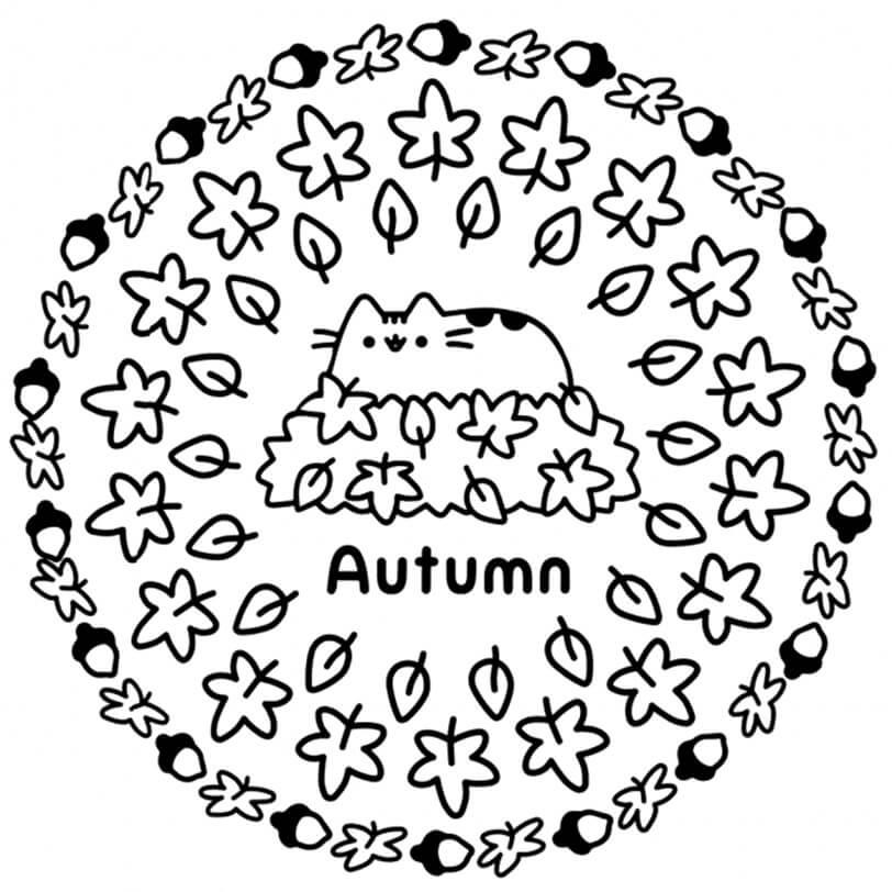 Autumn Pusheen