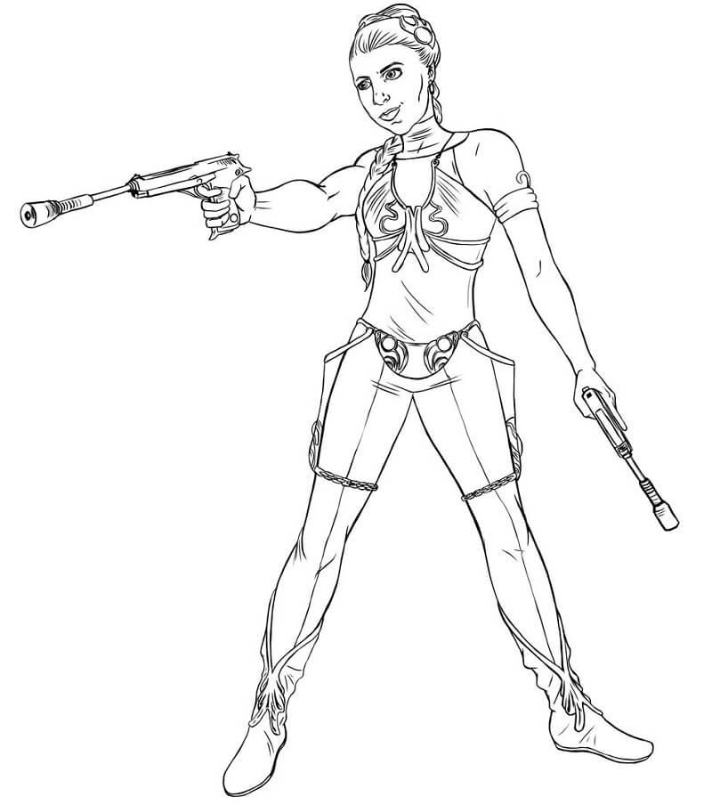 Awesome Princess Leia