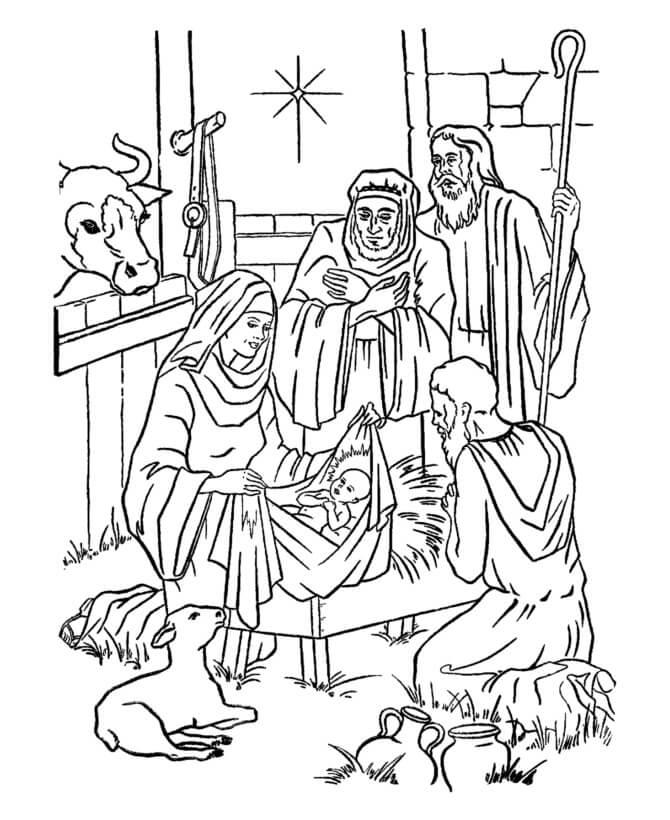 Baby Jesus Nativity 1