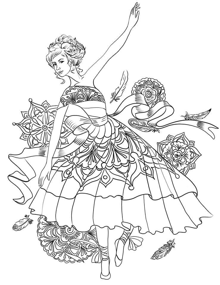 Ballerina Swan Dance