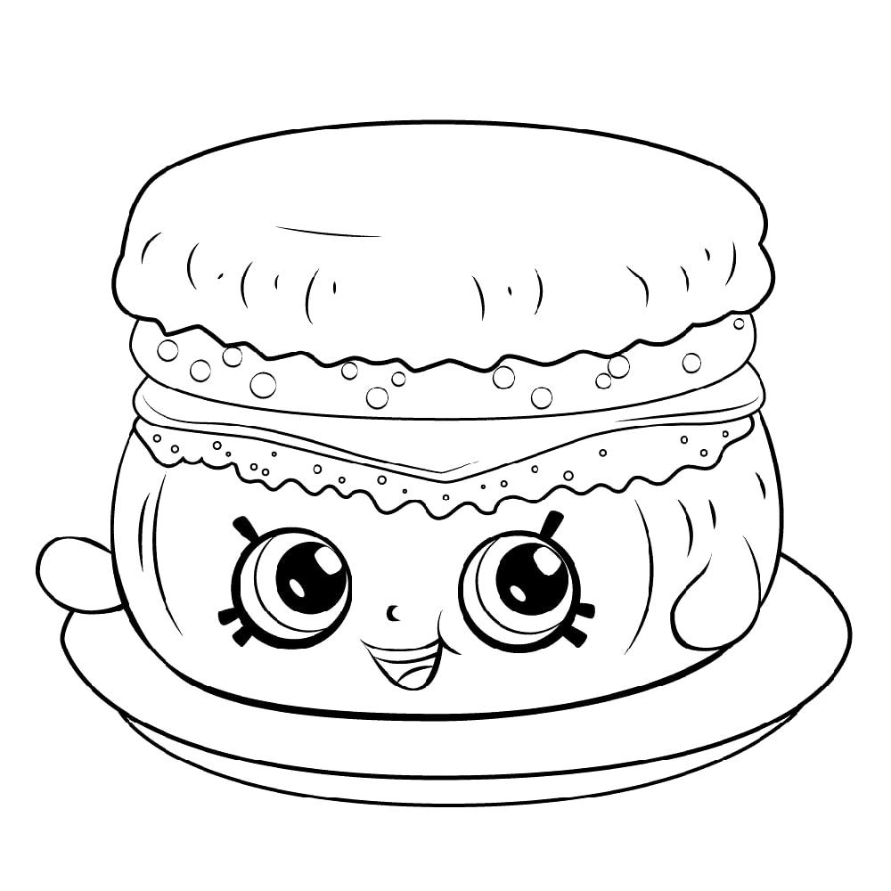 Barbie Breakfast Muffin Shopkin