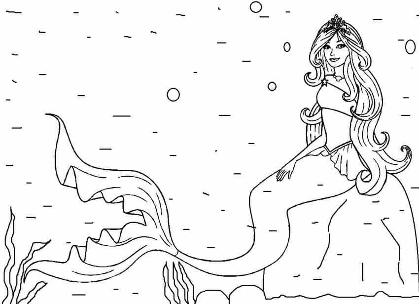 Barbie Mermaid Under the Ocean