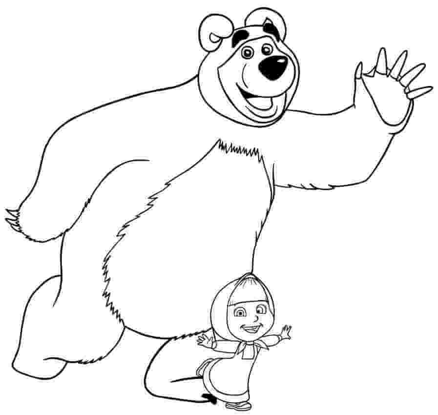 Bear and Masha dance
