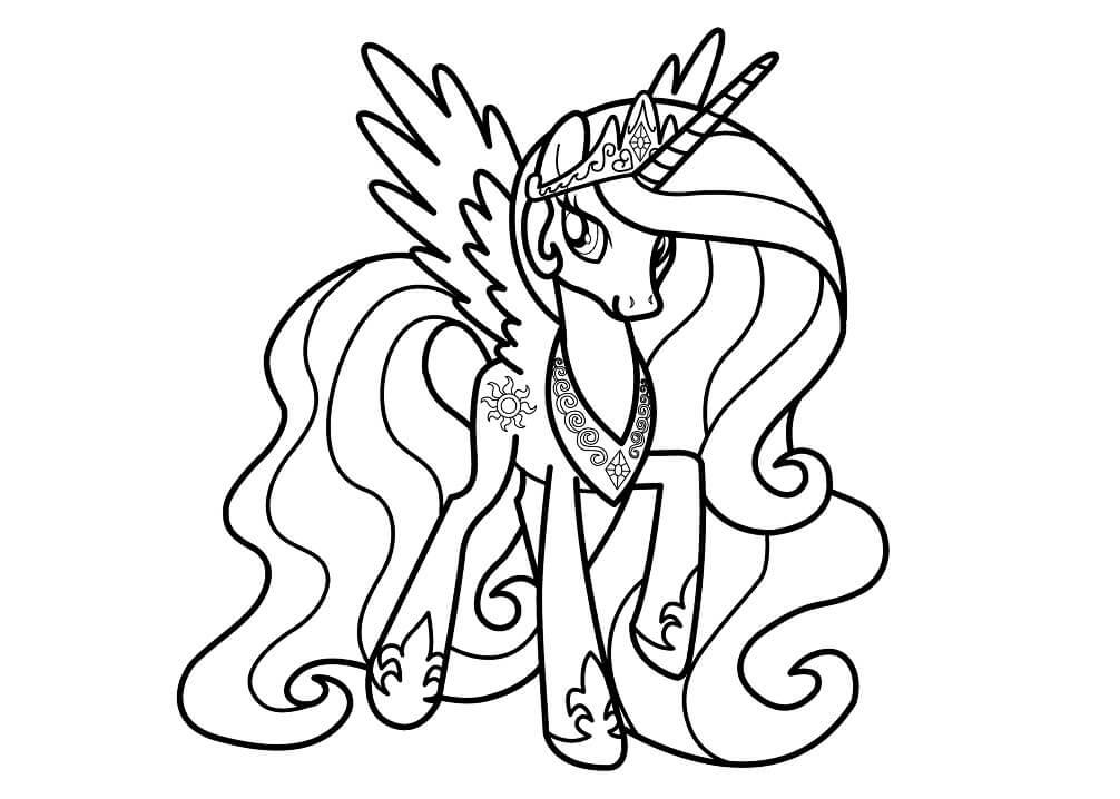 Beautiful Princess Celestia