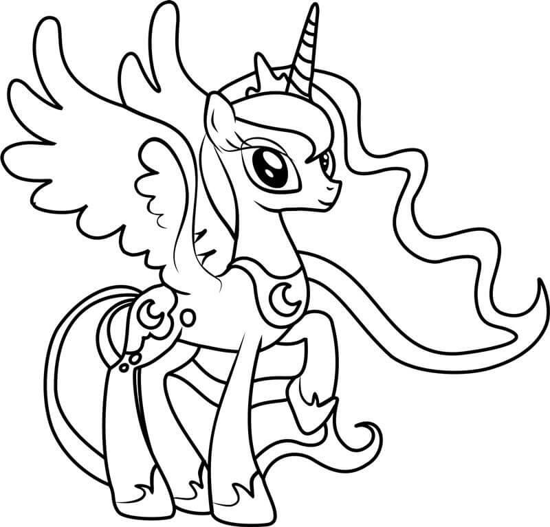 Beautiful Princess Luna