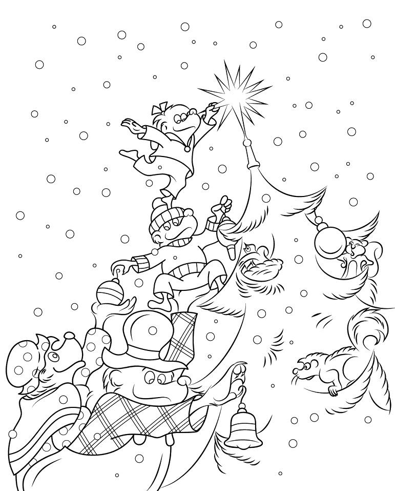 Berenstain Bears Christmas Tree